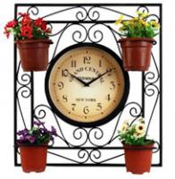 Садовые часы односторонние  050-20F (46.5*5*50см)
