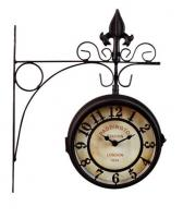 Садовые часы  двусторонние К1110-20 29*8.5*35см