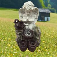 Садовый фонтан ТР0031 26*26*40 Ангел настольный