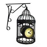 """Садвоые часы  20015-2-10F """"Птичья клетка"""""""