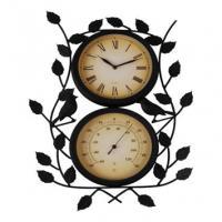 Ч/Декор 308-15F часы двухс мет.